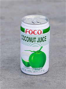 Foto Foco Coconut Juice 330ml